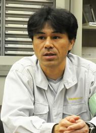「機構のシンプルさが魅力的でした」高知工場 工務課長 浜田章郎氏
